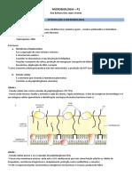 Microbiologia p1 Completo