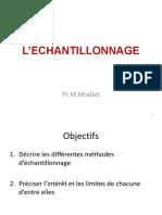 Quantification - Echantillonnage - Cours
