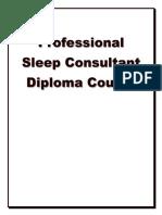 Sleep consultant Diploma Course