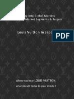 Louis Vuitton in Japan