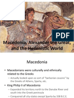 Alexander and Hellenistic Culture
