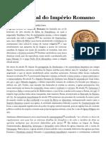 Igreja Estatal Do Império Romano – Wikipédia, A Enciclopédia Livre