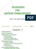 Introduction Into Particle Measurement - Lecture
