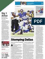 Sports- Stomping Dallas