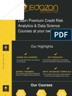 Credit risk analytics   Edazon