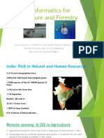 Geoinformatics for Agriculture and Forestry