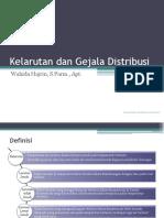 Kelarutan Dan Gejala Distribusi