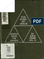 G.R.S. Mead - Echoes from the Gnosis Vol. IV - Hymn of Jesus.pdf