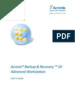 Backup Recovery Advanced Workstation Userguide.en