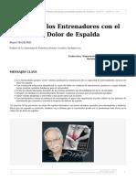 El Papel de los Entrenadores con el Cliente con Dolor de Espalda.pdf