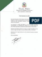 Mensaje del presidente Danilo Medina con motivo del Día Nacional del Locutor 2019