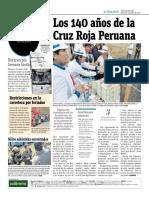 Los 140 Años de La Cruz Roja Peruana