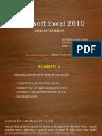 Microsoft Excel 2016 - SESIÓN_6