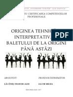 Atestat Balet - Alin(Reeditat)