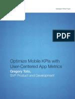 Mobile KPIs User Centered Metric2 WP 2
