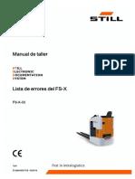 Manual Fallos FXS