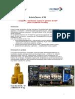 CIPET - Boletin Técnico Nº 43 - Garrafas de GLP