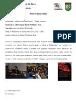 Relatório Rafael Loureiro