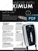 CTEK XS25000 Product Sheet