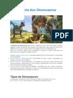 História dos Dinossauros.docx