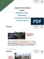 3 Programas de Remediacion y Conclusiones