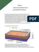 Tema Srg - Caracterizarea electrica a celulelor fotovoltaice