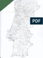 Mapa - Divisão Dos Concelhos