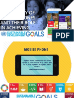 THE HISTORY OF MOBILE PHONES AND THEIR ROLE IN ACHIEVING SDGs