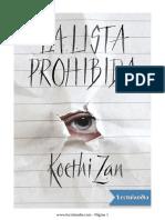 La lista prohibida - Koethi Zan.pdf