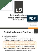 Reforma de Pensiones del Congreso de Chile