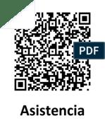 QR Asistencia