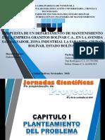 Presentación de PSI de Ingeniería en Mantenimiento