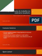 A Precarização Do Trabalho No Judiciário Brasileiro