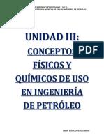 3 Unidad III. Conceptos Fisicos y Quimicos de Uso en Ing. Mod