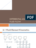 6. Differential Analysis of Fluid Flow