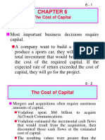 Cost of Captial