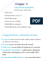 Chapter VI Congental Abnormality Update Heart Lung