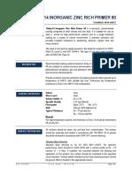 ZINKY-14 - Epoxy Zinc Rich Primer - 80% Zinc on Dry Film