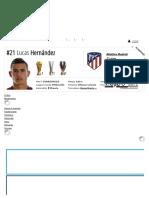 Lucas Hernández - Profilo Giocatore 18_19 _ Transfermarkt