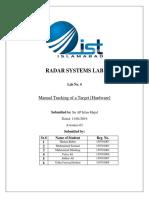 Manual Radar Tracking