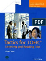 Tactics for TOEIC Book