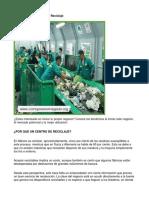 Como Poner Un Centro de Reciclaje - Guía de Negocio