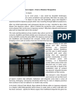 Japan and Etiquette