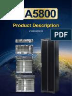 MA5800 Product Description