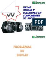 50+FALLAS COMPONENTES DE AUDIO