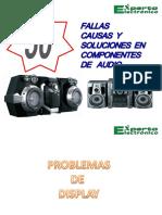 50+FALLAS COMPONENTES DE AUDIO