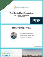 The RentalMan Ecosystem