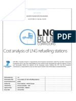 Cost analysis of LNG refueling stations