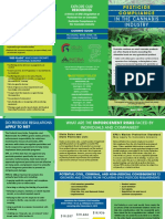 Pesticide Compliance in the Cannabis Industry