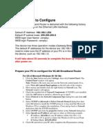 Wireless AP User Manual